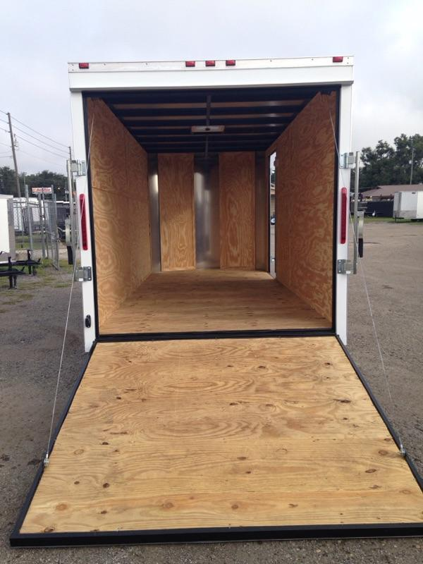 2019 AMP Trailers 7X14 CARGO Enclosed Cargo Trailer