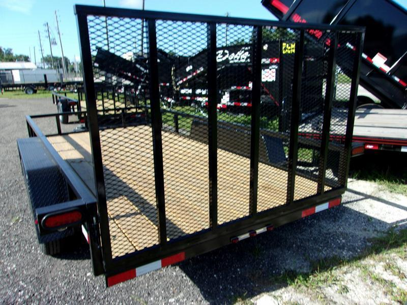 "2019 Down 2 Earth Trailers 76""x16' Utility Trailer"