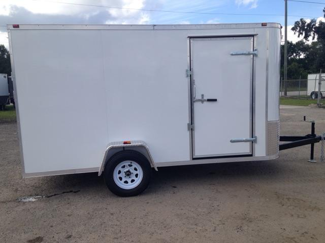 2019 AMP Trailers SINGLE AXLE 6X12 CARGO Trailer