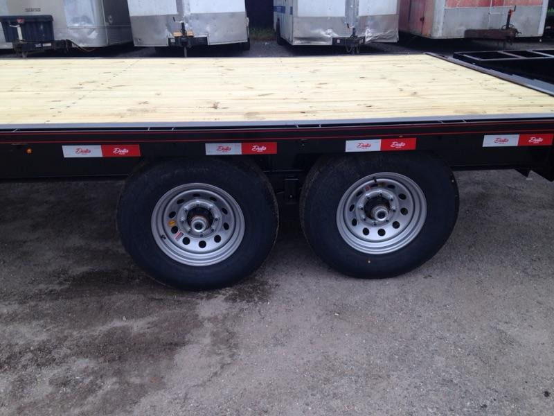 2019 Delta 27GN 7 ton Flatbed Equipment Trailer