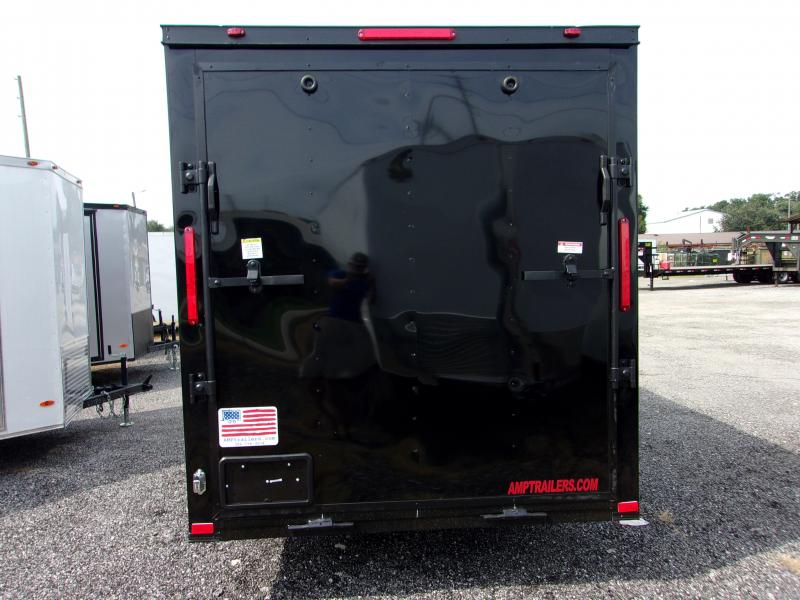 2019 6x12 COMMANDER SERIES Cargo Trailer (Blacked Out Edition)