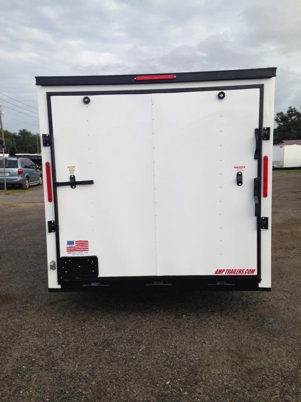 2019 7x16 COMMANDER SERIES Tandem Axle Cargo Trailer- *BLACK OUT PACKAGE*