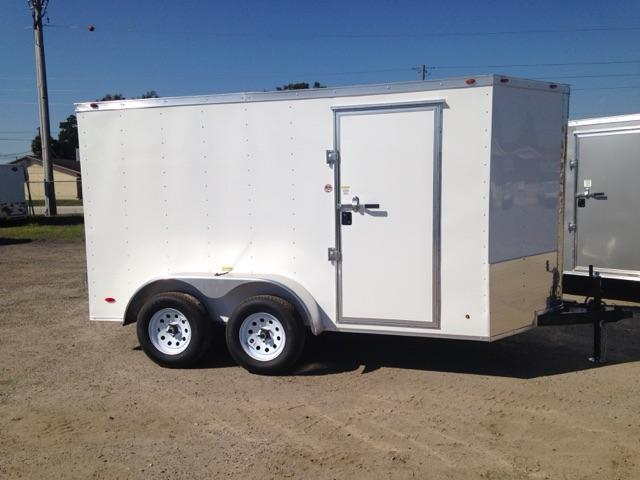 2019  6x12 COMMANDER SERIES Tandem Axle Cargo w/ Double Rear Doors