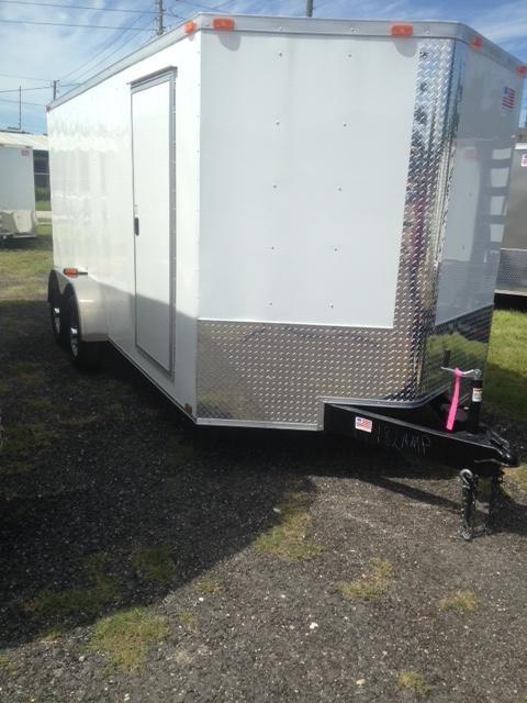 2019 7X16 Enclosed Cargo Trailer (Commander Series)