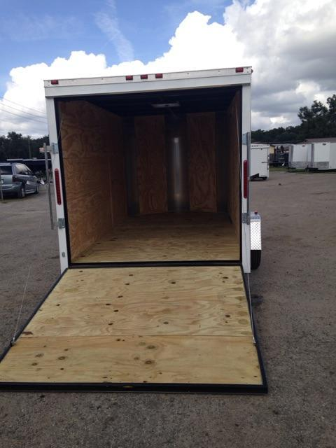 2019 AMP Trailers SINGLE AXLE 7X12 CARGO Enclosed Cargo Trailer