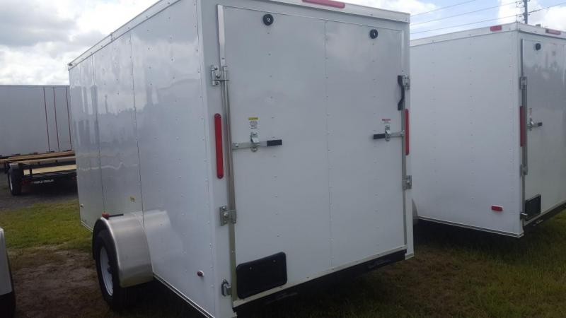 2019 6x12 Enclosed Cargo Trailer (Commander Series)