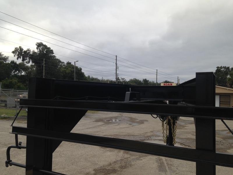 2019 Delta 27GN 7 ton Flatbed Equipment Trailer