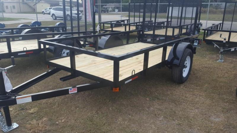 2019 5 X 10 Utility Trailer (AMP Trailers)