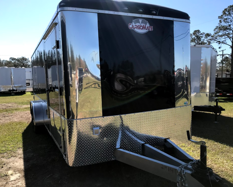 2018 Cargo Mate Black 7x20TA Trailer