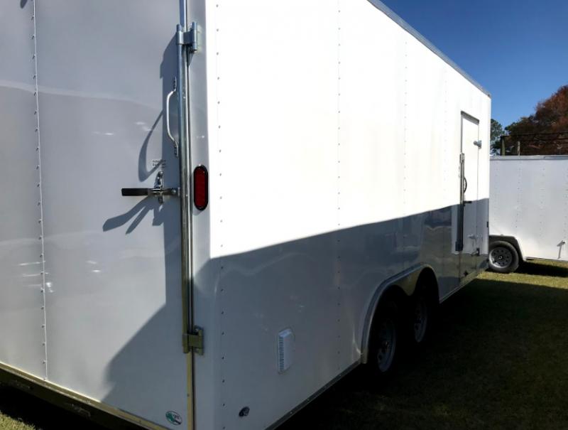 2018 Continental Cargo 8.5x20TA Enclosed Cargo Trailer