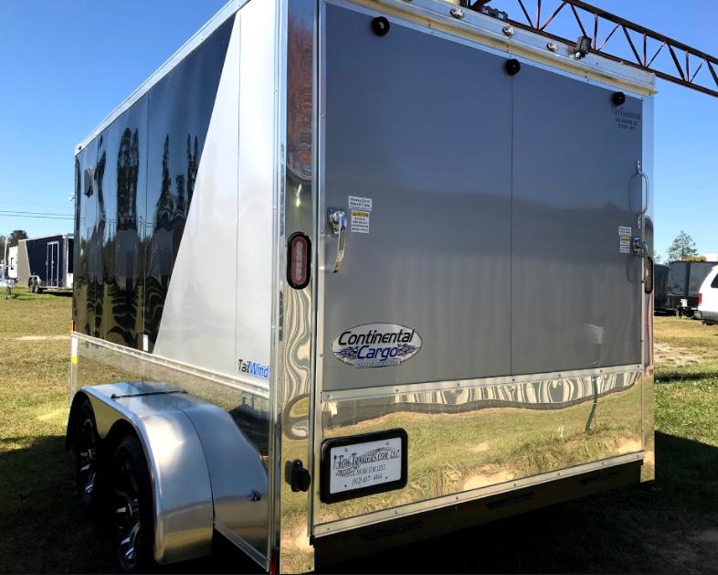 2018 Continental Cargo 7x12TA Enclosed Cargo Trailer