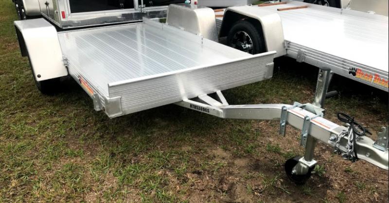 2018 Bear Track 4x8 SA Utility Trailer