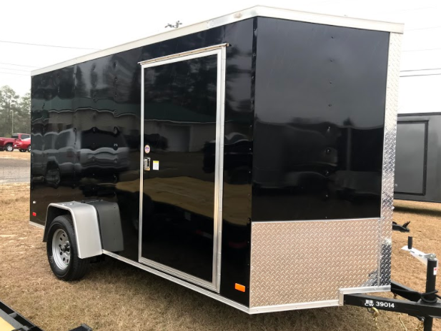 2018 Covered Wagon Trailers 7x12SA Enclosed Cargo Trailer