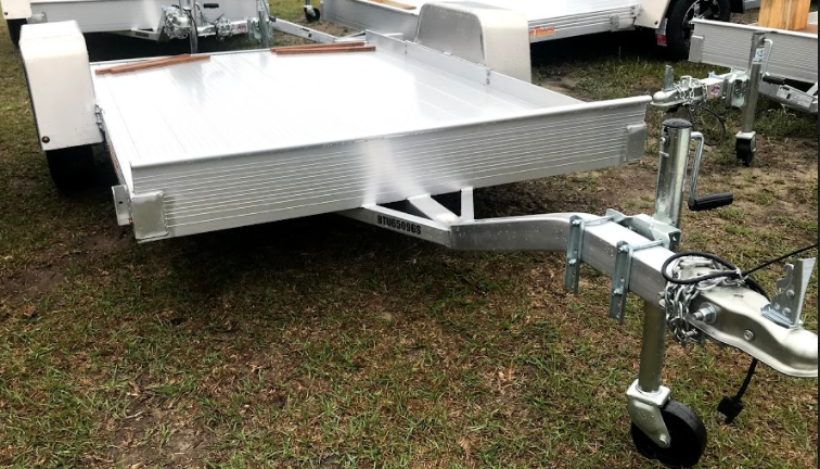 2018 Bear Track 5x8 SA Utility Trailer