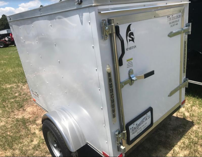 2018 Spartan 4x6SA Enclosed Cargo Trailer