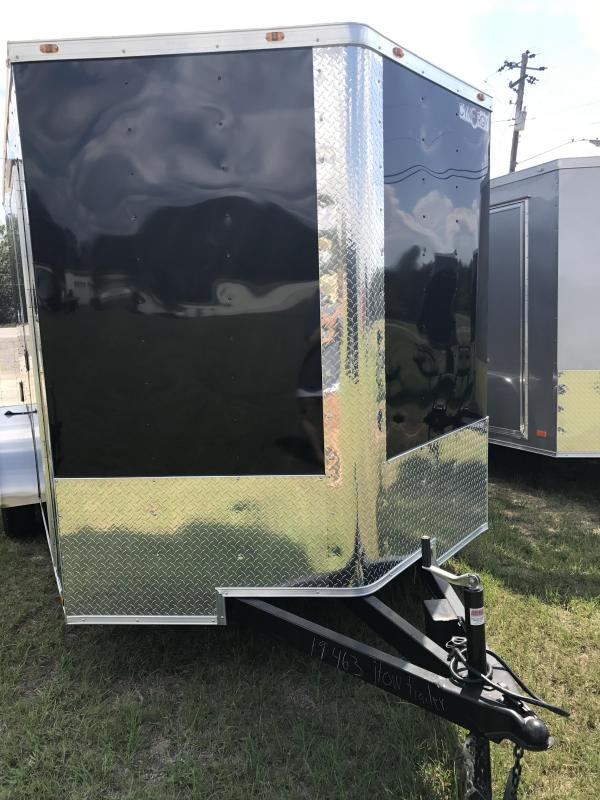 2017 Black Cynergy Cargo 7x14TA Enclosed Cargo Trailer