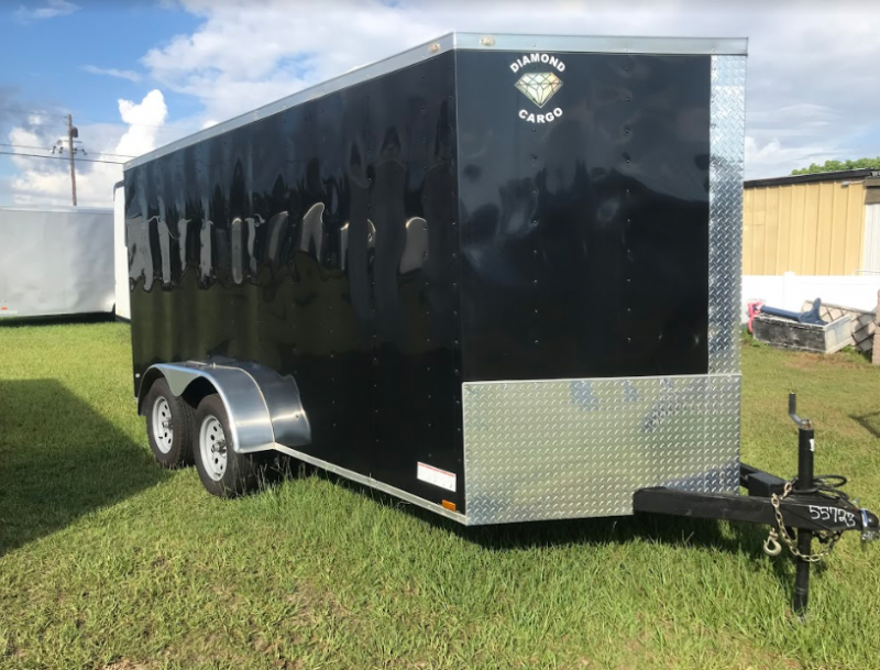 2018 Diamond Cargo 7x14TA SPECIAL EDITION Enclosed Cargo Trailer