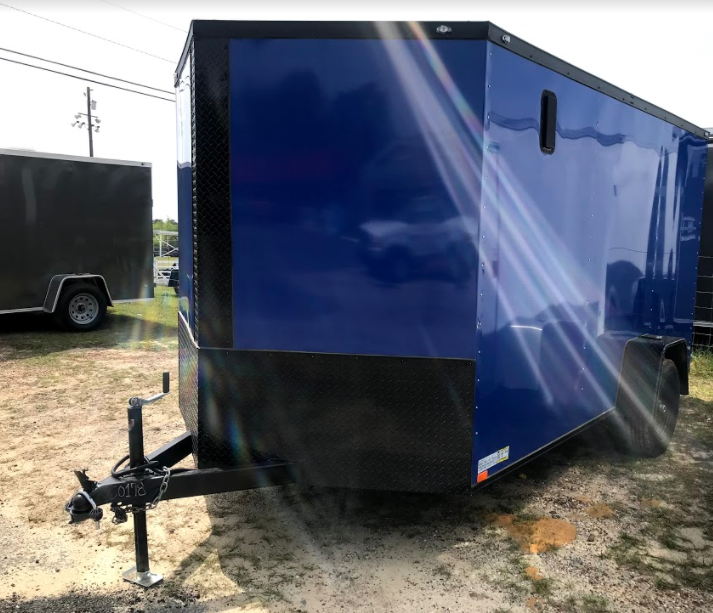 2018 Diamond Cargo 7x12 SA Enclosed Cargo Trailer