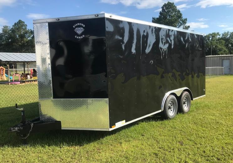2018 Diamond Cargo 8.5x16TA Enclosed Cargo Trailer