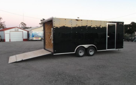 2018 Covered Wagon Trailers 8.5x20TA Goldmine Series Enclosed Cargo Trailer