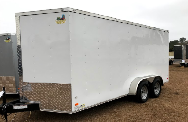 2018 Covered Wagon Goldmine Series 7x14 T/A Encl. Cargo Trailer