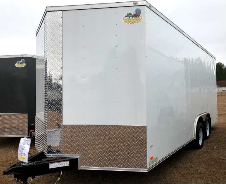 2018 Covered Wagon Trailers 8.5x18TA Goldmine Series Enclosed Cargo Trailer