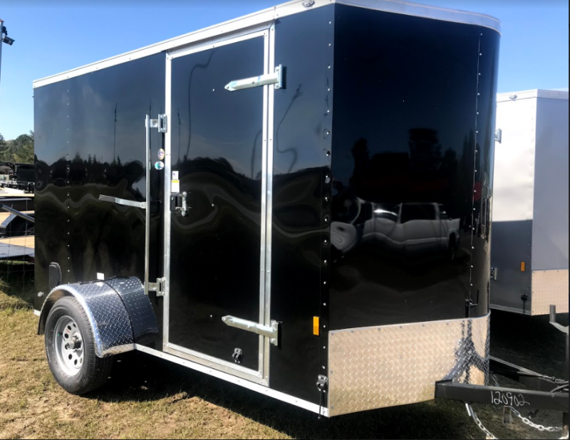 2018 Continental Cargo 6x10SA Enclosed Cargo Trailer