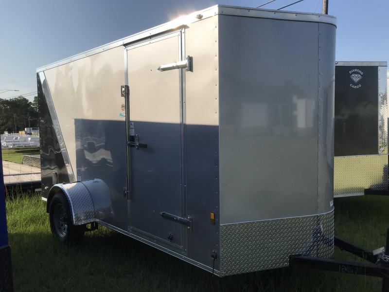 2018 Continental Cargo 6x12SA Enclosed Cargo Trailer