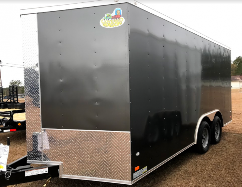 2018 Covered Wagon Trailers 8.5x16TA Enclosed Cargo Trailer