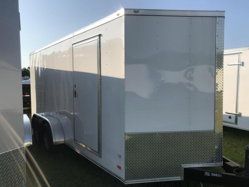 2018 Covered Wagon Trailers 7x16TA Goldmine Series Enclosed Cargo Trailer