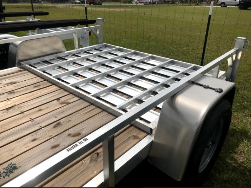 2018 Lightning Trailers 65x10 SA Open Utility Trailer