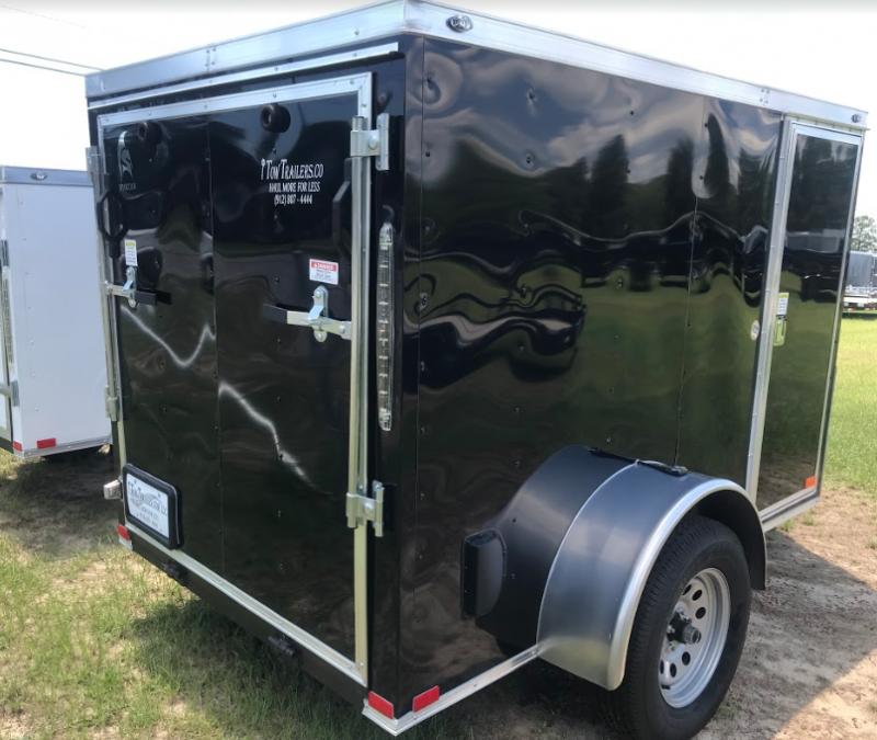2018 Spartan 5x8SA Enclosed Cargo Trailer