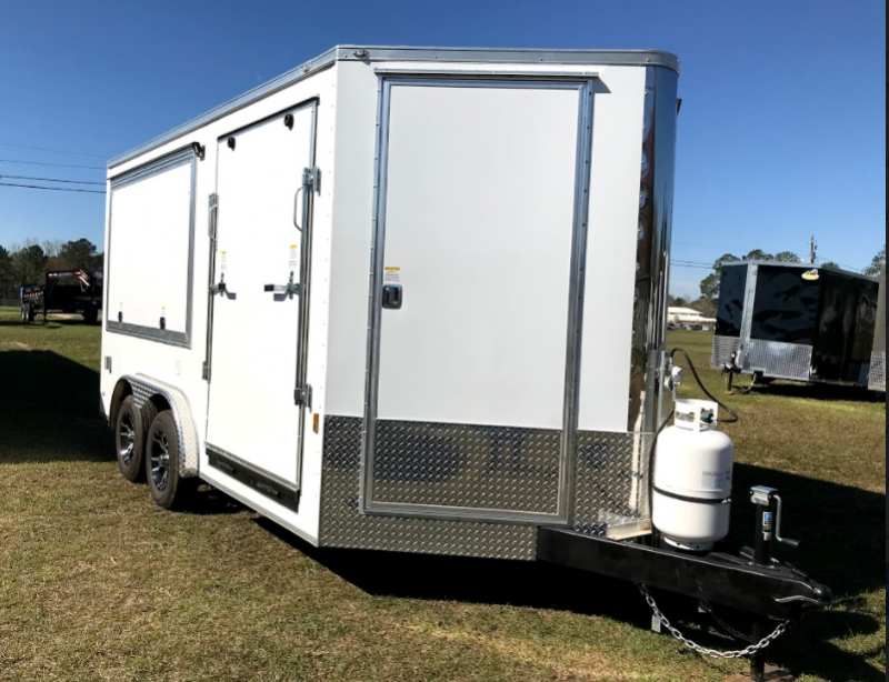 2018 Continental Cargo 8x14TA Party Trailer