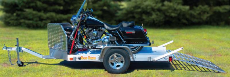 2018 Bear Track 6x11 SA Motorcycle Trailer