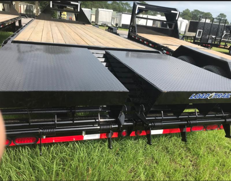 2018 Load Trail 102x25 Gooseneck Hauler Equipment Trailer