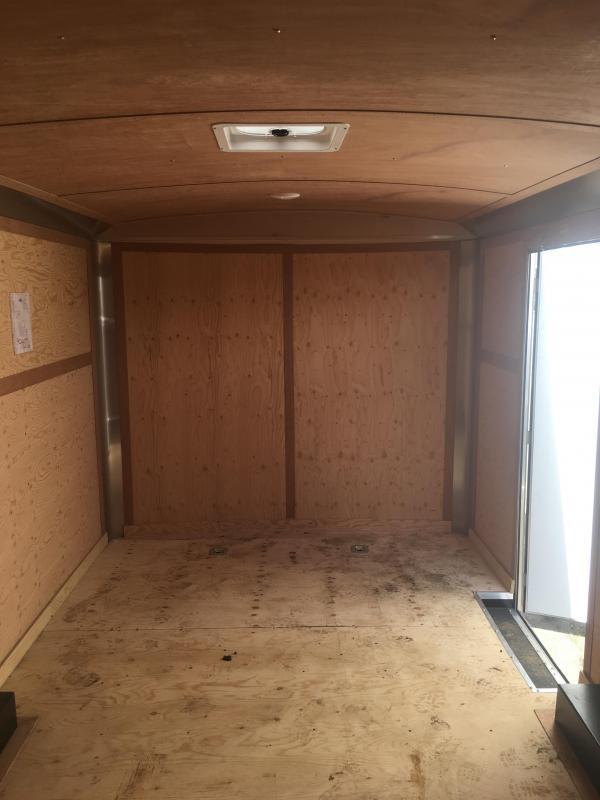 2019 - 8.5'x16' Continental Cargo w/ Ramp Door
