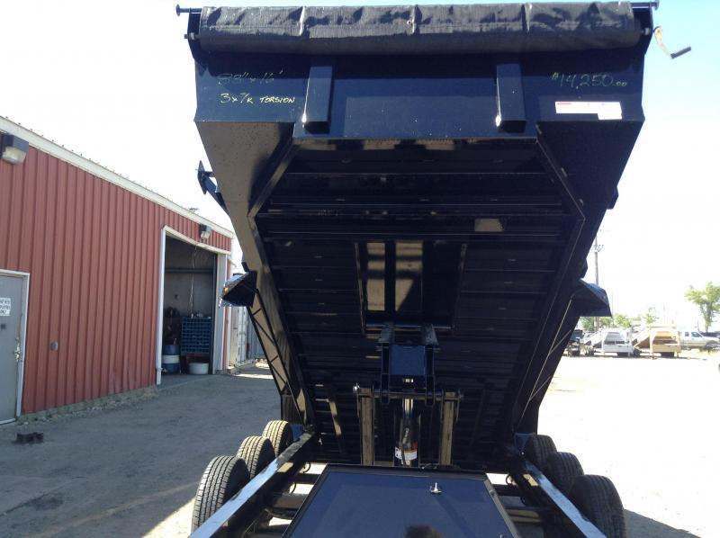 2019 Lamar Triple Axle Torsion Dump Trailer