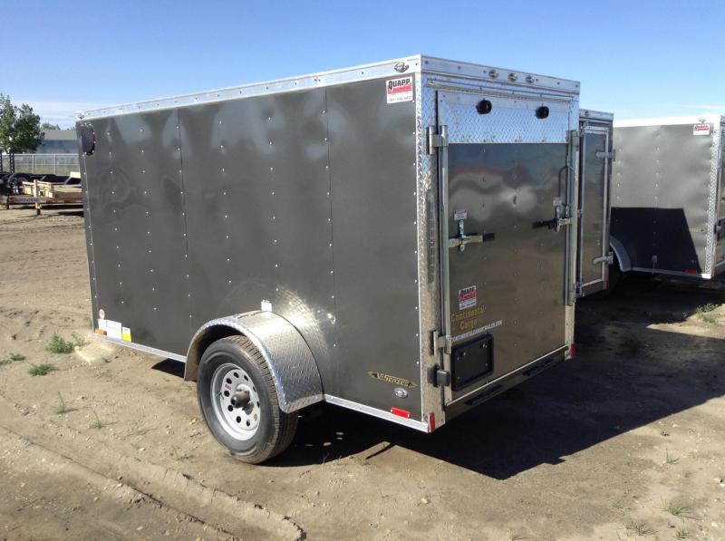 2019 5' x 10' Ramp Door Continental Cargo V-Hauler Enclosed Trailer