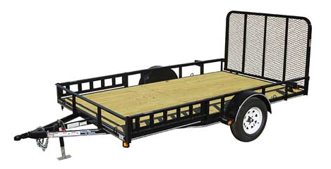 2017 Load Trail Single Axle Utility Trailers