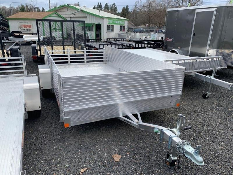 2019 Bear Track Products BTU76144S Utility Trailer with Solid Side Kit