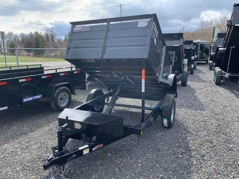 2019 Mirage Trailers ULSD Single Axle Landscape Dump Dump Trailer