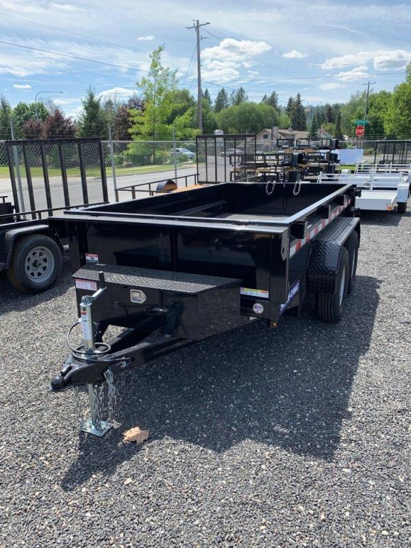2020 Sure-Trac 5x8 LP 5K Dump Trailer