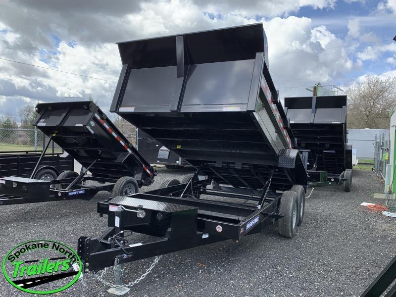 2020 Sure-Trac 7X14 LP 14K Dual Ram Dump Trailer
