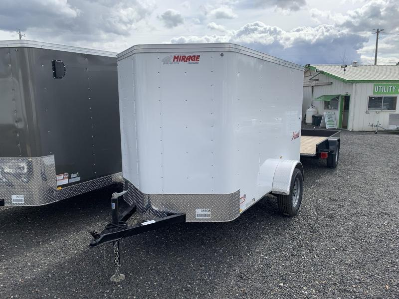 2019 Mirage Trailers XPRES 5W SINGLE AXLE CARGO Enclosed Cargo Trailer