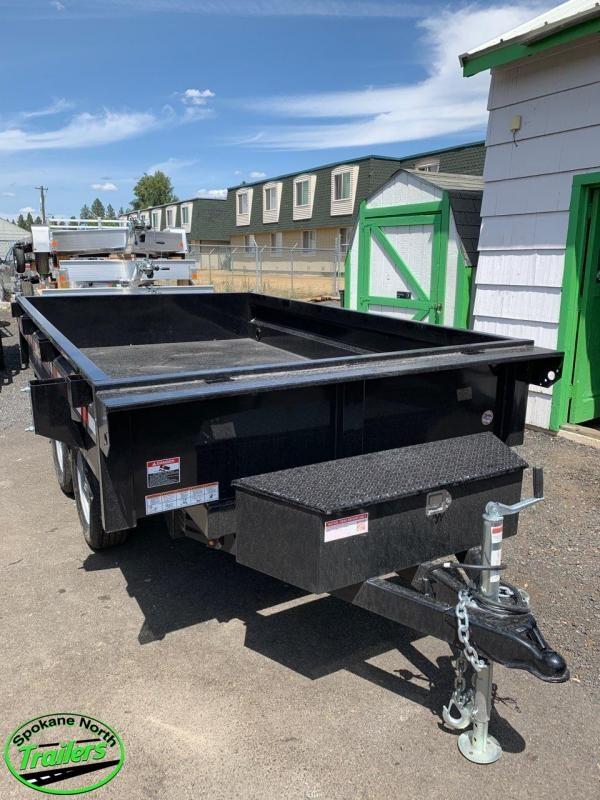 2020 Sure-Trac 6X10 Deckover Dump 7K