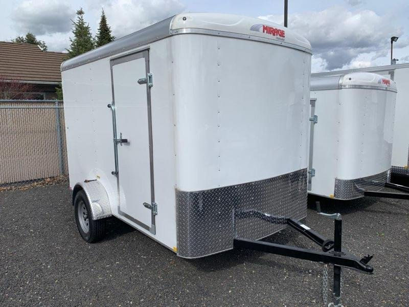 2019 Mirage Trailers XPO 6W Single Axle Cargo Trailers Enclosed Cargo Trailer