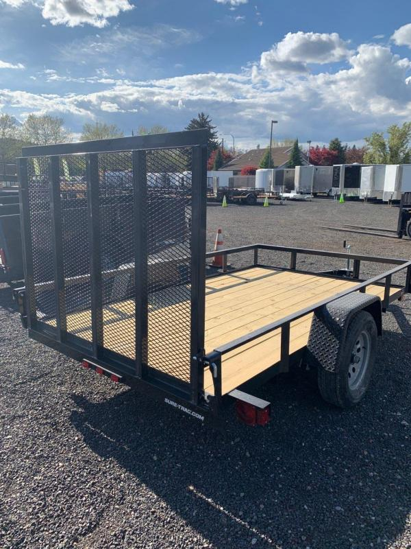 2019 Sure-Trac 6x10 Angle Iron Utility  3k Idler