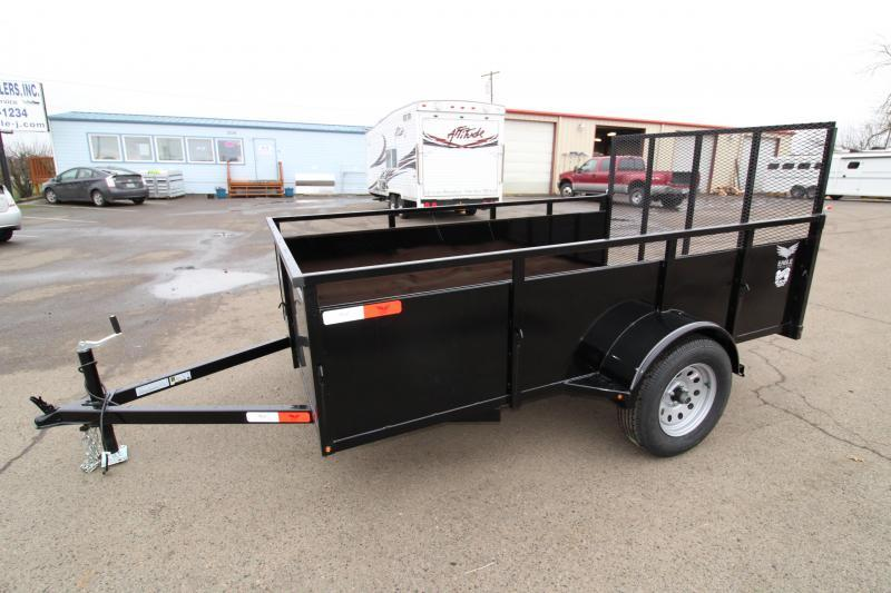 2019 Eagle 6x10 Single Axle Utility Trailer