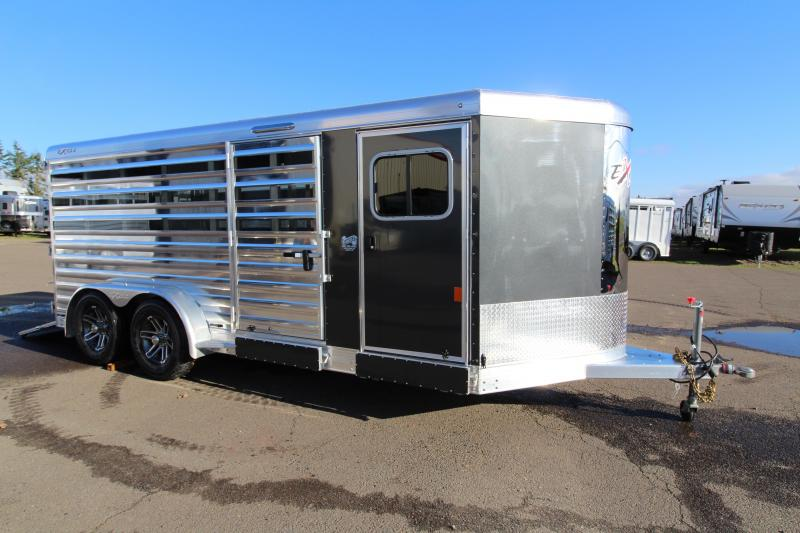 2019 Exiss 716A Exhibitor Low Profile Stock Combo Trailer