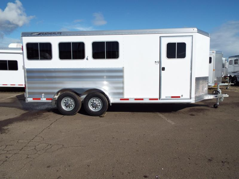 2017 Featherlite 9409 3 Horse Bumper Pull Trailer - All Aluminum - 7' Tall  - Folding Rear Tack - PRICE REDUCED BY $1600